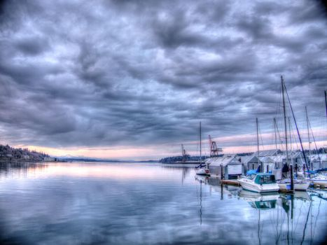 HDR Sunset by turtletech