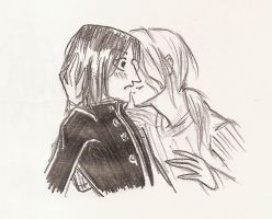 2. Stolen kiss by Severus-x-Remus-Club