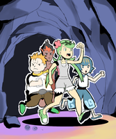 Cave Trials: Trial Captains! by AlSanya