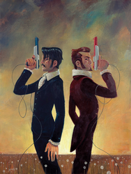 The Duel by jasinski