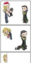 Thor's Xmas attempt by Gnine