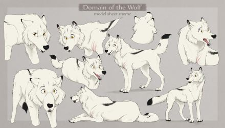 DotW | Fitu |Model Sheet MSE by FrostedCanid