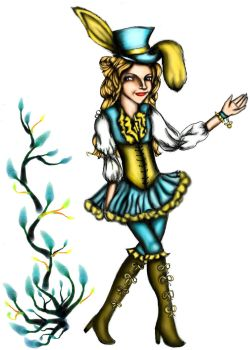 For Zeynep, and it looks like Luna Lovegood. :D by Pheonix-Of-The-West