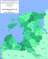 Deutsch Baltenland / German Baltic Lands (1918) by altmaps