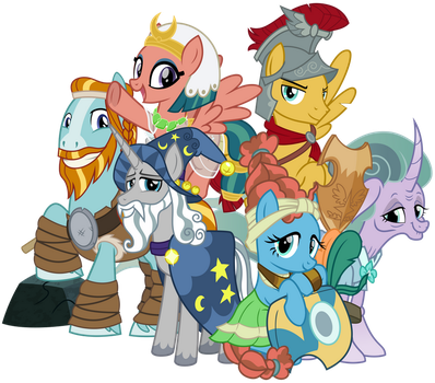 Pillars of Equestria: Legends of Magic by cheezedoodle96