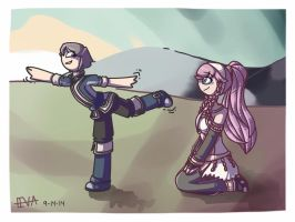 Am I doing it right, Mother? by ars-autem-lux