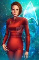 Col. Kira Nerys - Star Trek: Deep Space Nine by JamieFayX