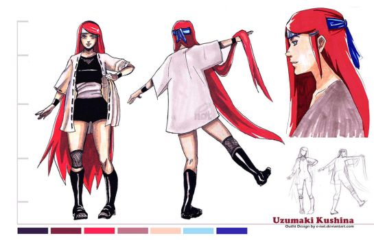 Kushina Design by e-nat