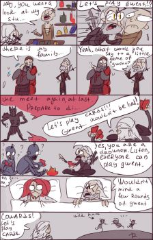 The Witcher 3: Gwent. by Ayej