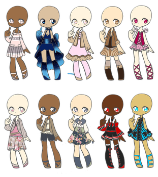 Outfit Adopts 33 *Closed* by Canaddicted
