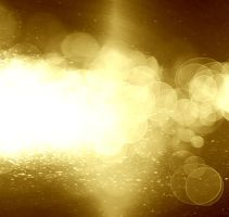 Golden glitter background by arghus