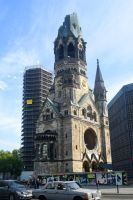 Kaiser Wilhelm Memorial Church ruin 1 - Berlin by wildplaces
