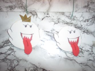 King Boo and subject ornaments by michiganj24