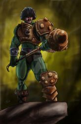 Man At Arms by TheArtofScott