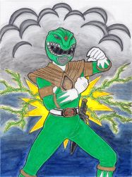 Green Ranger Finished by ImaginaryFox