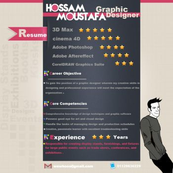 Resume by HossamMoustafa