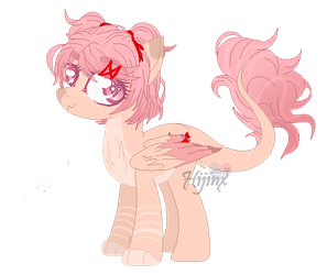 Kitty Cake - Mlp Natsuki OC by d-ovewing
