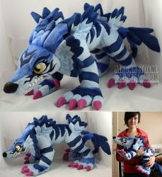 Garurumon by MagnaStorm