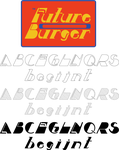 Future Burger Font by EJSCreations