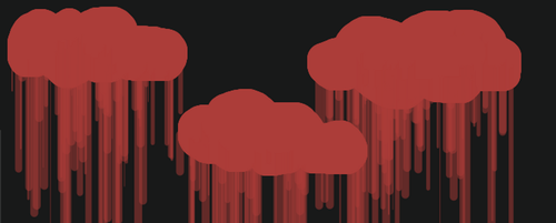Bloody Clouds by lolohe