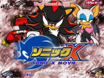 Sonic X The Movie Wallpaper 2 by Joramchameleon