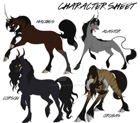 (Secrets) Character Sheet THREE by thegypsybeaner