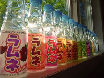 Ramune by the Window by MisterMooshi