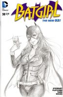 Batgirl by FreezeEx by NeoValentine