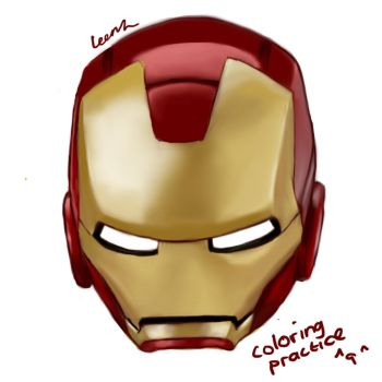 Iron man by Leenh