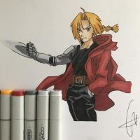Edward Elric by Javiyoshi