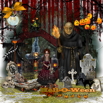 Hell-O-Ween 03 by AngelOfDarkness71