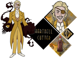 GD: Dr Hartnell Cutter by vampire-chicken