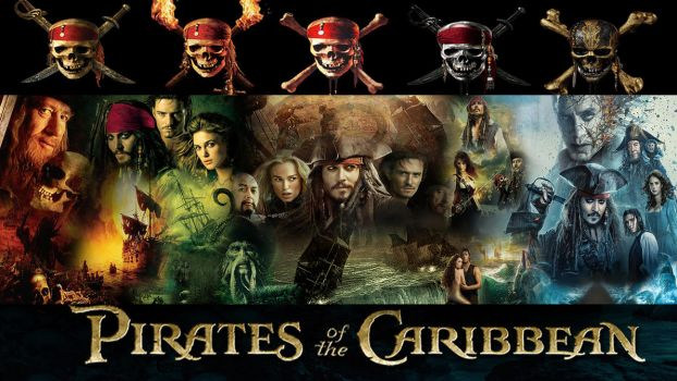 Pirates of the Caribbean 1-5 Series Wallpaper by The-Dark-Mamba-995
