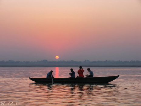 Ganges Life by Evicas