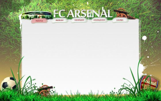 Arsenal layout 1 by roZzZa