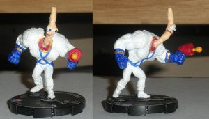 Earthworm Jim Custom Heroclix by TheFriendlyFoe