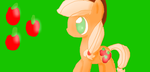 Anime Applejack by RainbowDashArtist