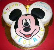 Miky Mouse cake by Dyda81