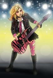 Rayna onstage by swampything