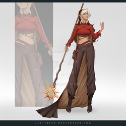 (CLOSED) Adoptable Outfit Auction 283 by JawitReen