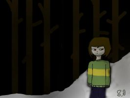 Chara(undertale Fan Art) by Shotgungamer8