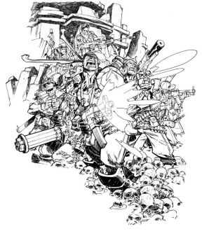TEAM 7_commission by EricCanete