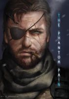 The Phantom Pain - MGS by GreyRadian