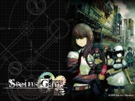 Steins Gate Official Wallpaper 1 by Mangaguy12