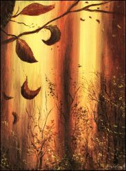 Warm Fall - an ending by unusualPhoto