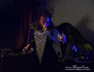 Queen of the Corvids Costume 9 by MorganCrone