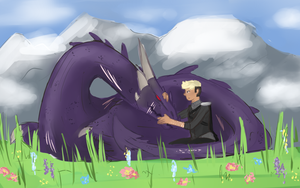 [IN] Day in the Field by QueenShota