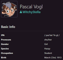 Pascal Vogl by WitchyStella