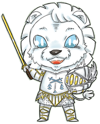 Chibi Taevyn Commission by MiniLeiProductions