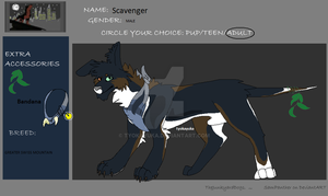 Scavenger: TJD: Application by TyokaYuka